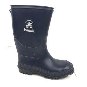 Kamik Boys Rain Boots Blue Sz 13